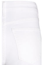 Skinny High Ankle Jeans - White - Ladies | H&M CN 5
