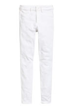 Skinny High Ankle Jeans - White - Ladies | H&M CN 3