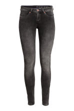 Feather Soft Low Jeggings - Noir washed out - FEMME | H&M FR 2