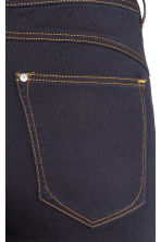 Feather Soft Low Jeggings - Dark denim blue/Raw - Ladies | H&M CN 4