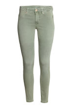 Feather Soft Low Jeggings - Dusky green - Ladies | H&M CN 3