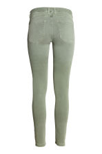 Feather Soft Low Jeggings - Dusky green - Ladies | H&M 4