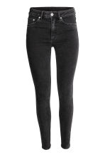 Skinny High Jeans - Black - Ladies | H&M CA 2