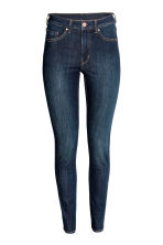 Skinny High Jeans - Dark denim blue - Ladies | H&M CN 3