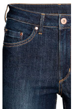 Skinny High Jeans - Dark denim blue - Ladies | H&M 4