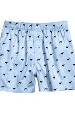 2-pack boxer shorts - Blue/Dogs - Men | H&M CN 3