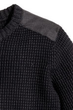 Knitted jumper - Black - Kids | H&M CA 3