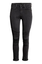 Skinny Regular Ankle Jeans - 黑色 - 女士 | H&M CN 2