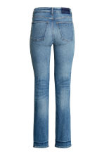 Straight Cropped High Jeans - Azul denim - SENHORA | H&M PT 3