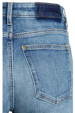 Straight Cropped High Jeans - Azul denim - SENHORA | H&M PT 4