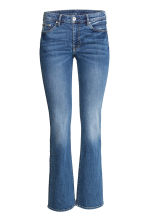 Boot cut Regular Jeans - 牛仔蓝 - 女士 | H&M CN 2