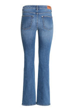 Boot cut Regular Jeans - 牛仔蓝 - 女士 | H&M CN 3