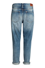Boyfriend Low Ripped Jeans - Azul denim trashed - MUJER | H&M ES 3