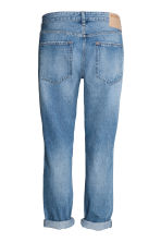 Boyfriend Low Ripped Jeans - Denim blue - Ladies | H&M CN 3
