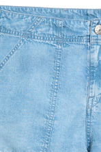 Shorts in lyocell - Blu denim chiaro - DONNA | H&M IT 3