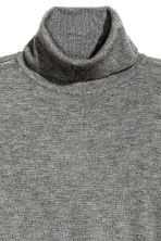 Pullover a collo alto - Grigio scuro mélange - DONNA | H&M IT 3