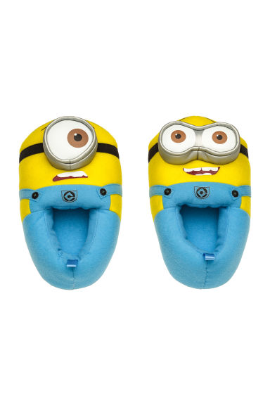 Soft slippers - Yellow/Minions - Kids | H&M CN