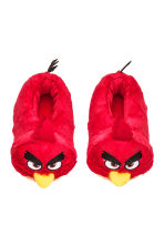 Soft slippers - Red/Angry Birds - Kids | H&M CN 1