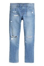 Straight Regular Jeans - 浅牛仔蓝 -  | H&M CN 2