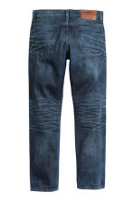 Straight Regular Jeans - Bleu foncé washed out - HOMME | H&M FR 3