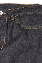 Straight Regular Jeans - Ciemnoniebieski denim - ON | H&M PL 4