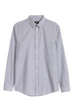 Easy-iron shirt - Grey - Men | H&M CN 2