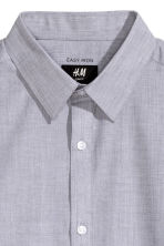 Easy-iron shirt - Grey - Men | H&M CN 3