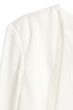 Draped jacket - White - Ladies | H&M CN 3