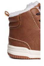 Hi-top trainers - Light brown - Kids | H&M CN 4