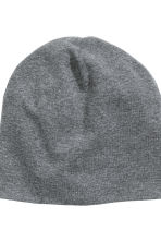 2-pack jersey hats - Dark grey marl - Kids | H&M CN 3