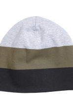 2-pack jersey hats - Dark grey marl - Kids | H&M CN 2