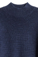 Pullover a lupetto in lana - Blu scuro -  | H&M IT 3
