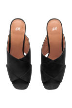 Mules - Black - Ladies | H&M CN 3