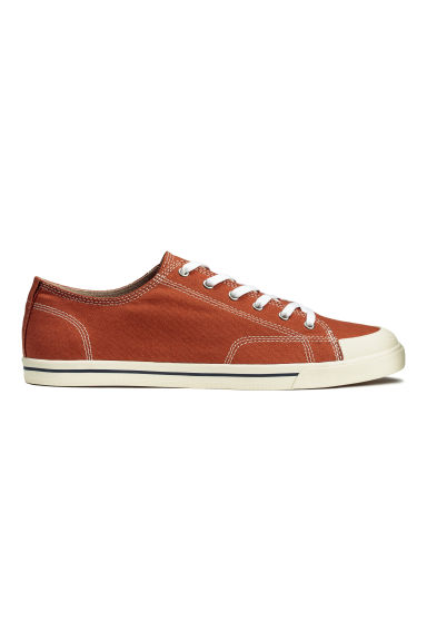 Sneakers in tela - Arancione scuro - UOMO | H&M IT 1
