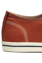 Sneakers in tela - Arancione scuro - UOMO | H&M IT 4