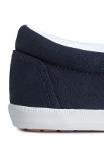 Slip-on trainers - Dark blue - Men | H&M CN 4