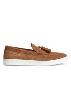 Suede loafers - Camel - Men | H&M CN 2