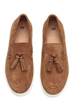 Suede loafers - Camel - Men | H&M CN 3