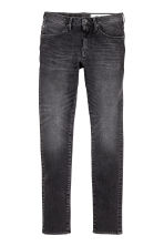 360 Tech Stretch Skinny Jeans - Nero Washed out - UOMO | H&M IT 2