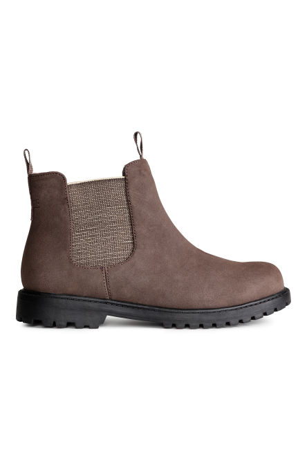 Chelseaboots met fleece