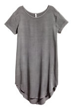 Viscose dress - Dark grey - Ladies | H&M CN 3