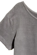 Viscose dress - Dark grey - Ladies | H&M CN 5