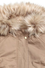 Pile-lined parka - Beige - Ladies | H&M CN 3