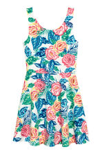 Sleeveless dress - Pink/Floral - Ladies | H&M CN 2