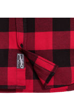 Checked flannel shirt - Red - Kids | H&M CN 3