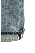 Skinny Low Selvedge Jeans - Bleu denim - HOMME | H&M FR 4