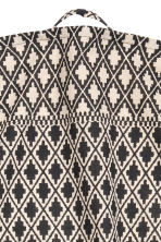 Patterned tea towel - Natural white/Anthracite grey - Home All | H&M CN 3