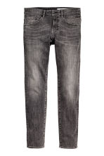 Tech Stretch Slim Low Jeans - Noir washed out - HOMME | H&M FR 1