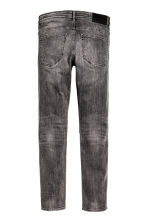 Tech Stretch Slim Low Jeans - Noir washed out - HOMME | H&M FR 2