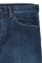 Slim Regular Tapered Jeans - Bleu denim foncé - HOMME | H&M FR 4